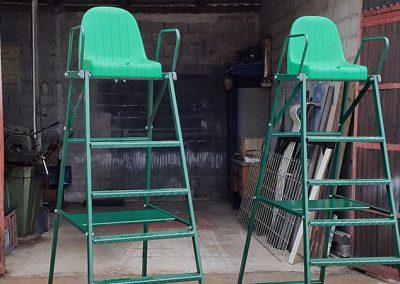 Teniski sudački stolac
